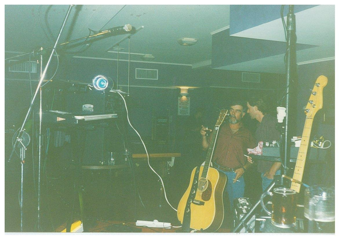 The Mckendry Duo at the Gisborne Cosmopolitan Club in 1996
